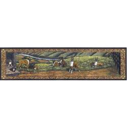 Boxer Tapestry Table Runner