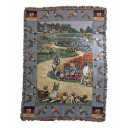 Boxer Blanket Throw Tapestry #1