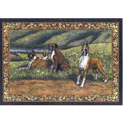 Boxer 3 Single Tapestry Placemat