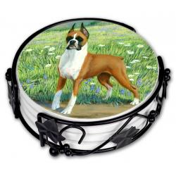 Boxer coaster set