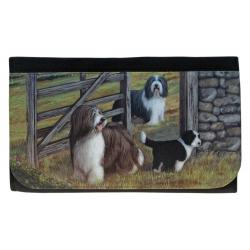 bearded collie wallet 4
