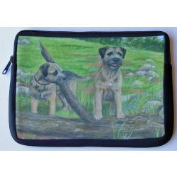 Border Terrier Picture Netbook Sleeve #1
