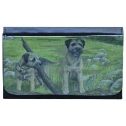 Border Terrier Picture Wallet #1