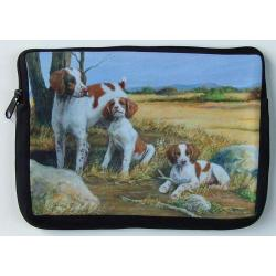Brittany Spaniel Picture Netbook Sleeve #2