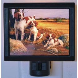 Brittany Spaniel 2 Nightlight