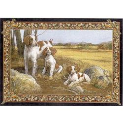 Brittany Spaniel 2 Single Tapestry Placemat