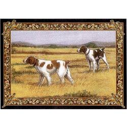 Brittany Spaniel 3 Single Tapestry Placemat