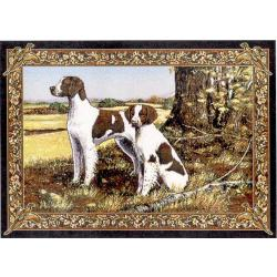 Brittany Spaniel 4 Single Tapestry Placemat