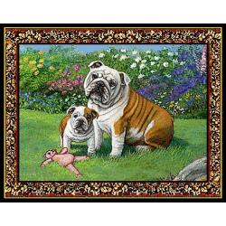 Bulldog 4 Single Tapestry Placemat