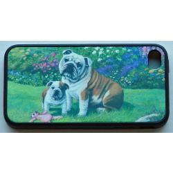 English Bulldog Picture iPhone-4 Cover #4