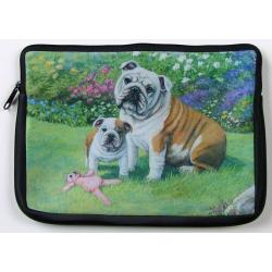 Bulldog Picture Netbook Sleeve #4