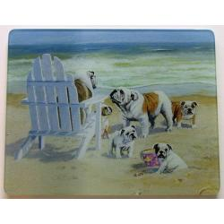 Bulldog 5 Tempered Glass Cutting Board