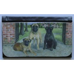 Bullmastiff Picture Wallet #4