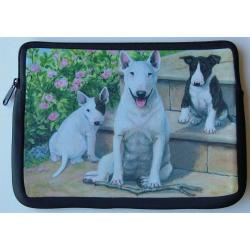 Bull Terrier Picture Netbook Sleeve #1