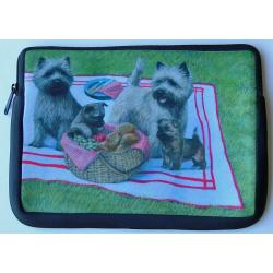 Cairn Terrier Picture Netbook Sleeve #1