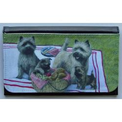 Cairn Terrier Picture Wallet #1