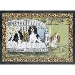 Cavalier King Charles Spaniel 1 Single Tapestry Placemat