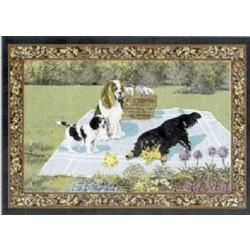 Cavalier King Charles Spaniel 2 Single Tapestry Placemat