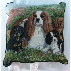 Cavalier King Charles Spaniel Picture Pillow #4