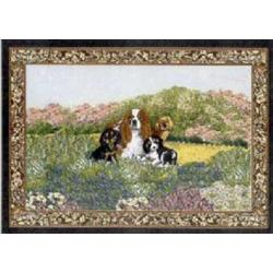 Cavalier King Charles Spaniel 4 Single Tapestry Placemat