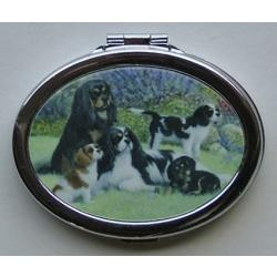 Cavalier Oval Compact Mirror #5