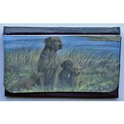 Chesapeake Bay Retriever Picture Wallet #1