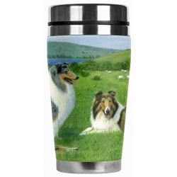 collie travel mug