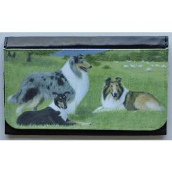 Collie Picture Wallet #1