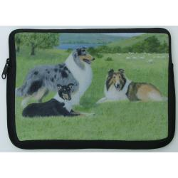 Collie Picture Netbook Sleeve #1
