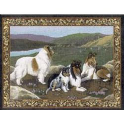 Collie Tapestry Placemat #2 Single