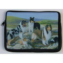 Collie Picture Netbook Sleeve #3