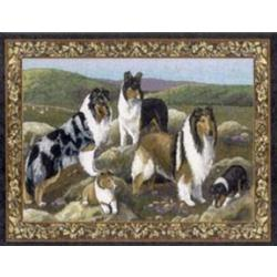 Collie Tapestry Placemat #3 Single