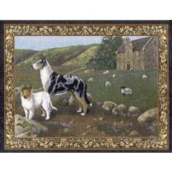 Collie Tapestry Placemat #4 Single