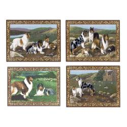 Collie placemat set