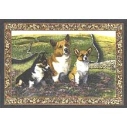 Corgi Tapestry Placemat #2 Single