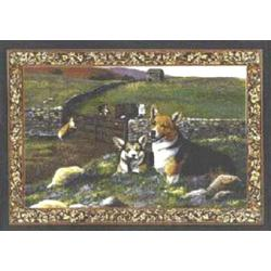 Corgi Tapestry Placemat #3 Single