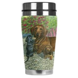 Dachshund travel mug 4