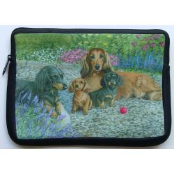 Dachshund Picture Netbook Sleeve #2