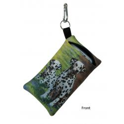 Dalmatian Picture Cell Phone Holder #2B