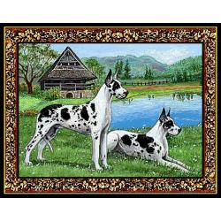 Great Dane 1 Single Tapestry Placemat