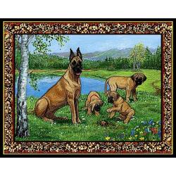 Great Dane 2 Single Tapestry Placemat