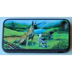 Great Dane Picture iPhone-4 Cover #4