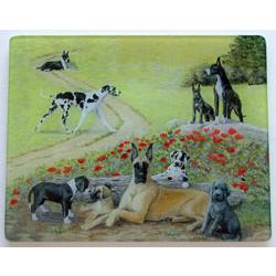 Great Dane 5 Tempered Glass Cutting Board