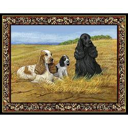 English Cocker Spaniel Tapestry Placemat #2 Single