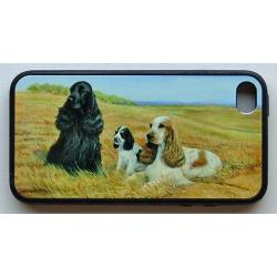 English Cocker Spaniel Picture iPhone-4 Cover #2A