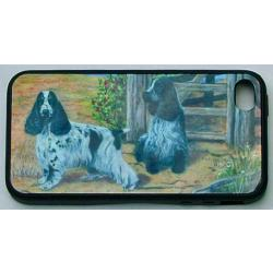 English Cocker Spaniel Picture iPhone-4 Cover #3