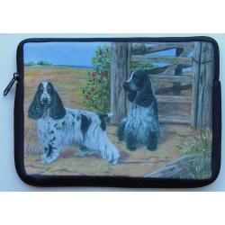 English Cocker Spaniel Picture Netbook Sleeve #3