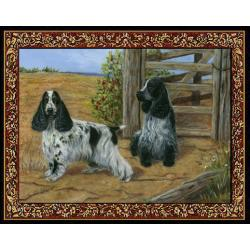 English Cocker Spaniel Tapestry Placemat #3 Single
