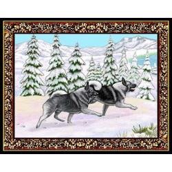 Norwegian Elkhound 1 Single Tapestry Placemat