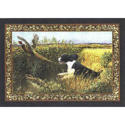 English Springer Set of Four Tapestry Placemats